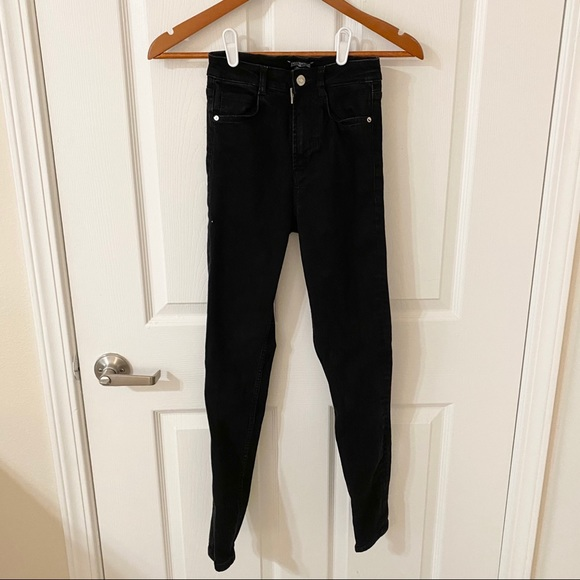 Zara High-Waisted Skinny Jeans